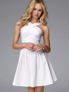 That simple white dress that every woman needs