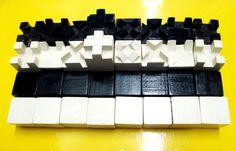 MCM German wooden chess set