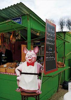 La Foire Nationale à la Brocante et aux Jambons – the French National Fair of the Flea Market and Ham - Spring 2012