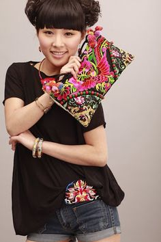 Hmong purse