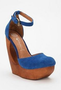 awesome blue wedges