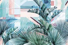 Papier peint Floridita, wall and deco