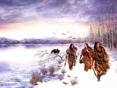 Luis Royo Dreams - People of the Lakes American Indian Art, Native American Indians, Native Americans, Fantasy World, Fantasy Art, Ebook Cover Design, Dark Paintings, Drawing Wallpaper, Luis Royo