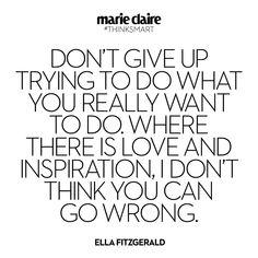 Quote by Ella Fitzgerald