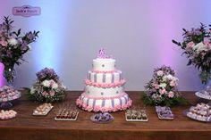 Mesa do bolo - Festa de 15 anos