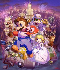 Super Mario odeessy. Yaho