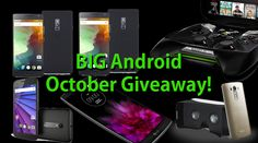 10/22/15 Enter the BIG Android October #Giveaway! 5 Prizes!! #Gaming #Smartphone https://wn.nr/FzwD7