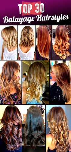 Top 30 Balayage Hairstyles to Give you a Completely New Look - Hair Color 02 Good Hair Day, Love Hair, Great Hair, Gorgeous Hair, Balayage Hair, Pretty Hairstyles, Hair Hacks, Hair Trends, Dyed Hair
