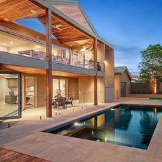 Brighton Residence by urban_angles Creative backyard pool designs.