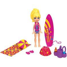Boneca Polly Pocket - Festa Tropical - Polly Mattel