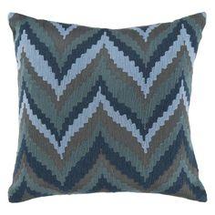 Surya Chevron Beat Decorative Throw Pillow