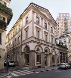 Giorgio Armani Milan store: The reopening at Via Montenapoleone | Milan Design Agenda