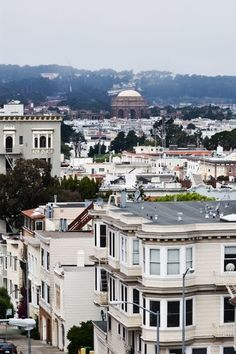 Marina District, San Francisco, California,  My first apartment in the city on Alhambra.