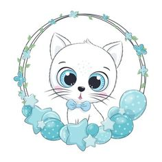 Design Floral, Clipart, Doodle, Pikachu, Hello Kitty, Cute Animals, Kawaii, Drawings, Fictional Characters