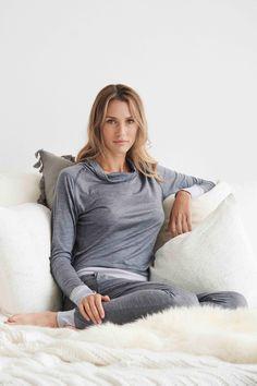 Sleep better with Dagsmejan's sleep enhancing pajamas Most Comfortable Pajamas, Cotton Pjs, Best Pajamas, Fibre And Fabric, Swedish Design, Sleep Shirt, Sleepwear Women, Stay Warm, Pyjamas