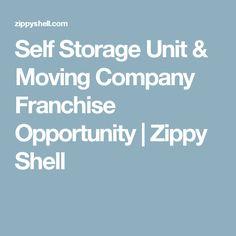 Self Storage Unit & Moving Company Franchise Opportunity | Zippy Shell