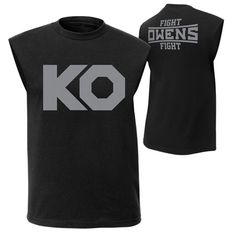 "Kevin Owens ""KO Fight"" Muscle T-Shirt - WWE Shop"