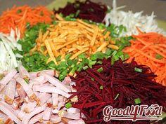 Татарский салат - один из моих любимых зимних фреш-салатов. Он совершенно уникален, поскольку содержит обычные наши зимние овощи (капусту, морковку и свеклу), но в свежем виде! А это значит, что он еще и умопомрачительно полезен: вот скажите, часто в...