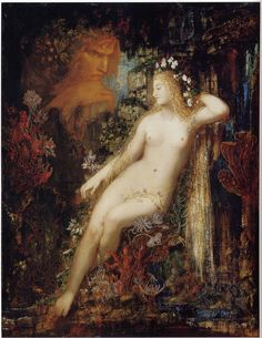 'Galatea' by Gustave Moreau, ca. 1880