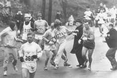 Bobbi Gibb and Kathrine Switzer