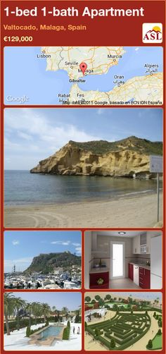 Apartment for Sale in Valtocado, Malaga, Spain with 1 bedroom, 1 bathroom - A Spanish Life Murcia, Malaga Spain, Mediterranean Design, Apartments For Sale, Spanish, Bath, Traditional, Architecture, Nature