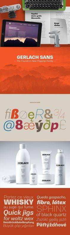 70% OFF – Gerlach Sans. Sans Serif Fonts