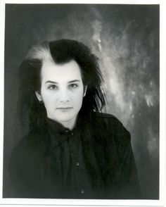 """Dave Vanian. His expression seems to be saying, """"Why yes, I AM pretty."""""""