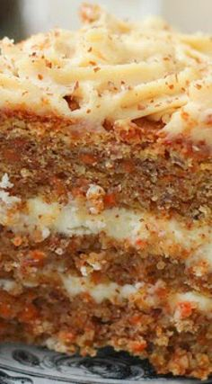 Carrot Cake with Peanut Butter Frosting - scroll down for recipe in English...