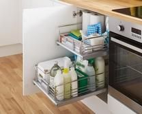 Internal Pull-Out Drawer | Kitchen Storage Solutions | Howdens Joinery