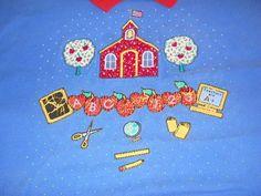 #Teacher Sweater Vest on @eBay! http://r.ebay.com/snWOn7   #Apples #American Flag     #Computers #School Supplies