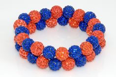 Denver Broncos or Houston Astros Shamballa bracelets. Get yours today at Sales@myteamwraps.com $16. Each