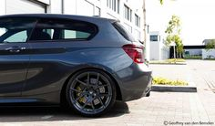Photo by Geoffrey Van den Bemden Bmw 116i, Bmw Cars, Bmw 1 Series, Audi A5, Sweet Cars, Car Tuning, Wheels And Tires, First Car, Car Manufacturers