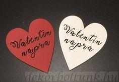 Átvágott szív 'Valentin napra' 5 db/csomag, 8 cm m Daffodils Planting, Valentine Drinks, Love