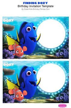 http://www.great-kids-birthday-parties.com/finding-dory-party.html