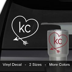 Kansas City Chiefs Football Logo Name Custom By VinylGrafix Kc - Custom vinyl stickers kansas city