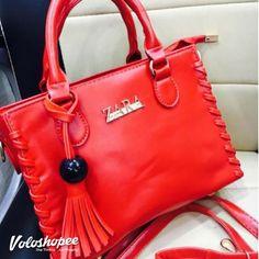 Zara Exclusive Ladies Handbags - Red #handbags #zara #fancyhandbags #luxurybags