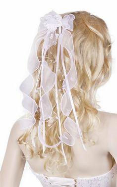 Flora Flower Girl's Communion Headpiece/Bridal Ribbon Bow Veil Flora, http://www.amazon.co.uk/dp/B00C11ZE6G/ref=cm_sw_r_pi_dp_zEyntb1T6VXA5