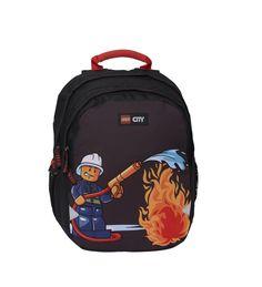Mega lækre Kindergarten ERGO, Lego, 29 cm35 cm16 cm, CityFire, Kindergarten ERGO   til Rygsække i behageligt materiale