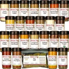 The Top 25 Spices Every Kitchen Must Have Spice Set - except for the Chinese 5 Spice and the Pennsylvania Pepper, I'm set. List Of Spices, Spices And Herbs, Spice Blends, Spice Mixes, Yellow Mustard Seeds, Cooking Tips, Cooking Recipes, Spice Set, Kitchen Must Haves