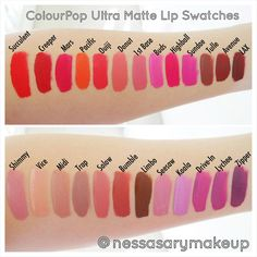 Colour Pop Ultra Matte Lippies