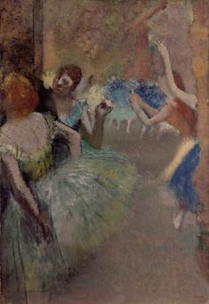 Edgar Degas (1834-1917) Scène de ballet