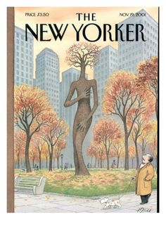 The New Yorker Cover - November 19, 2001