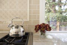kitchen remodel + garden view + taj mahal quartzite  Design By: Nicole Duttera of Revival Market