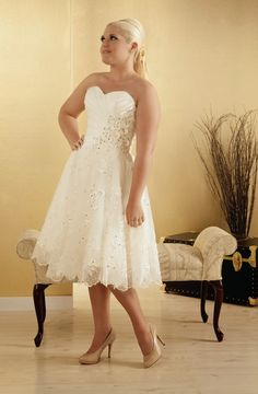 Casual Plus Size Wedding Dresses |http://simpleweddingstuff.blogspot.com/2014/01/casual-plus-size-wedding-dresses.html