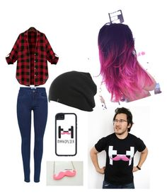 """""""MARKIPLIER OUTFIT"""" by mmady ❤ liked on Polyvore"""