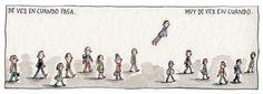 Muy de vez en cuando x Liniers