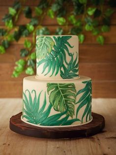 awesome 25 Best Ideas of Tropical Wedding Cake, so Fresh and Beautiful https://viscawedding.com/2017/04/13/25-best-ideas-tropical-wedding-cake-fresh-beautiful/