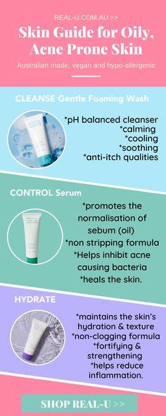 BREAK THE ACNE CYCLEGet clear, healthy skin in 3 easy steps