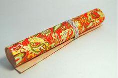 JaponskaZahrada / Handmade origami papier - Červený paisley