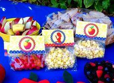 pacotinhos de comidas para crianças